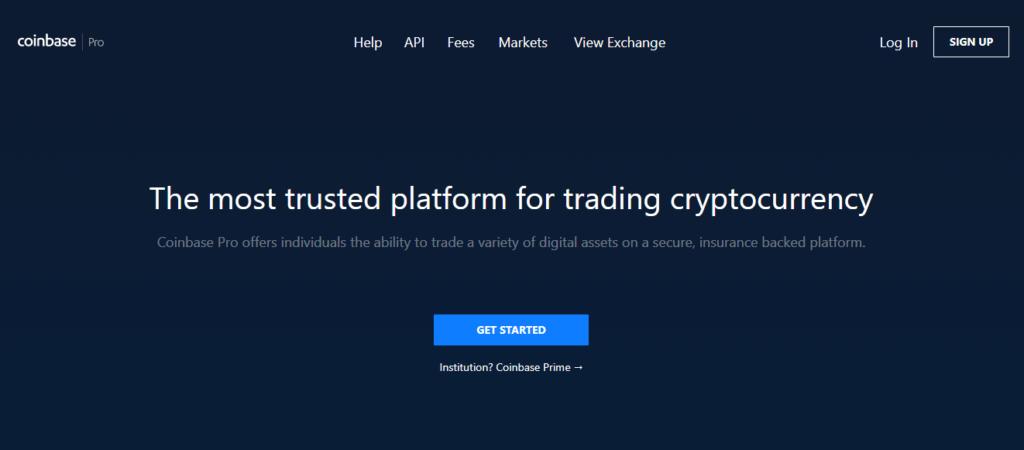 Информация о платформе Coinbase Pro