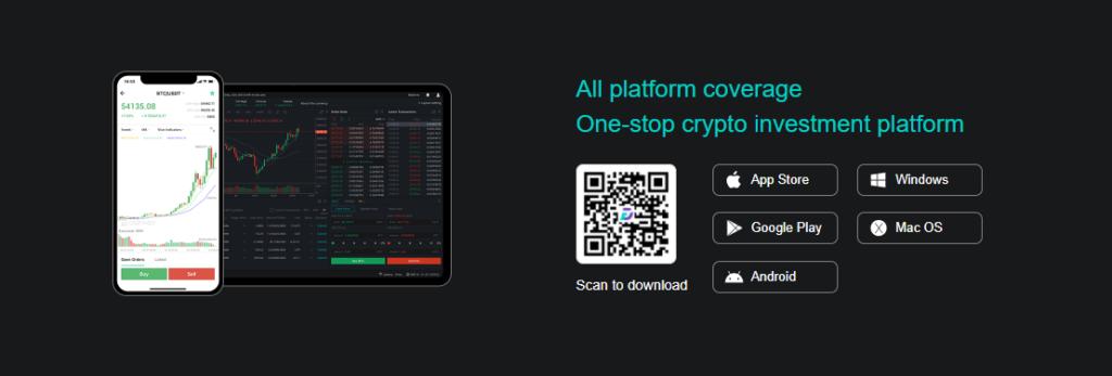 Приложения от компании Digifinex