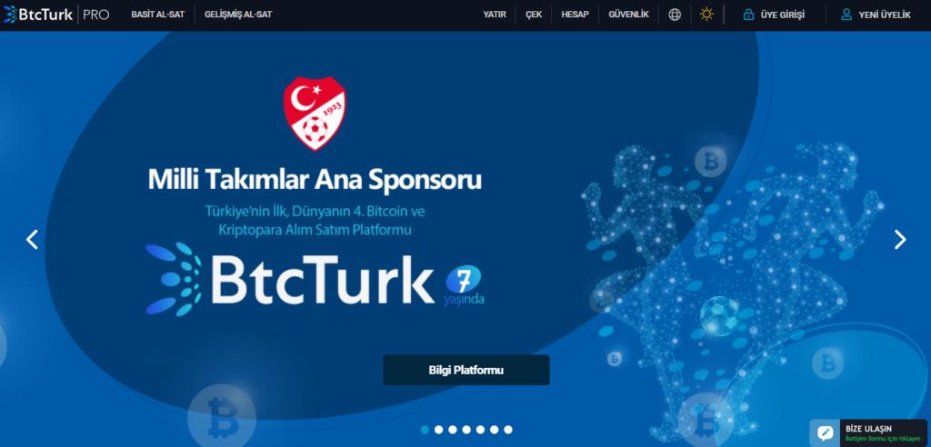 Предложения от платформы BtcTurk PRO