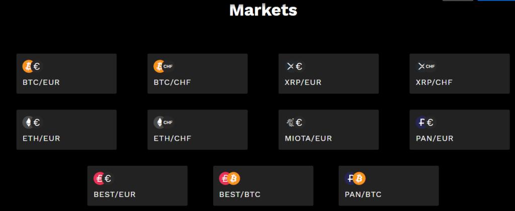 Крипто-валюты от Bitpanda Pro