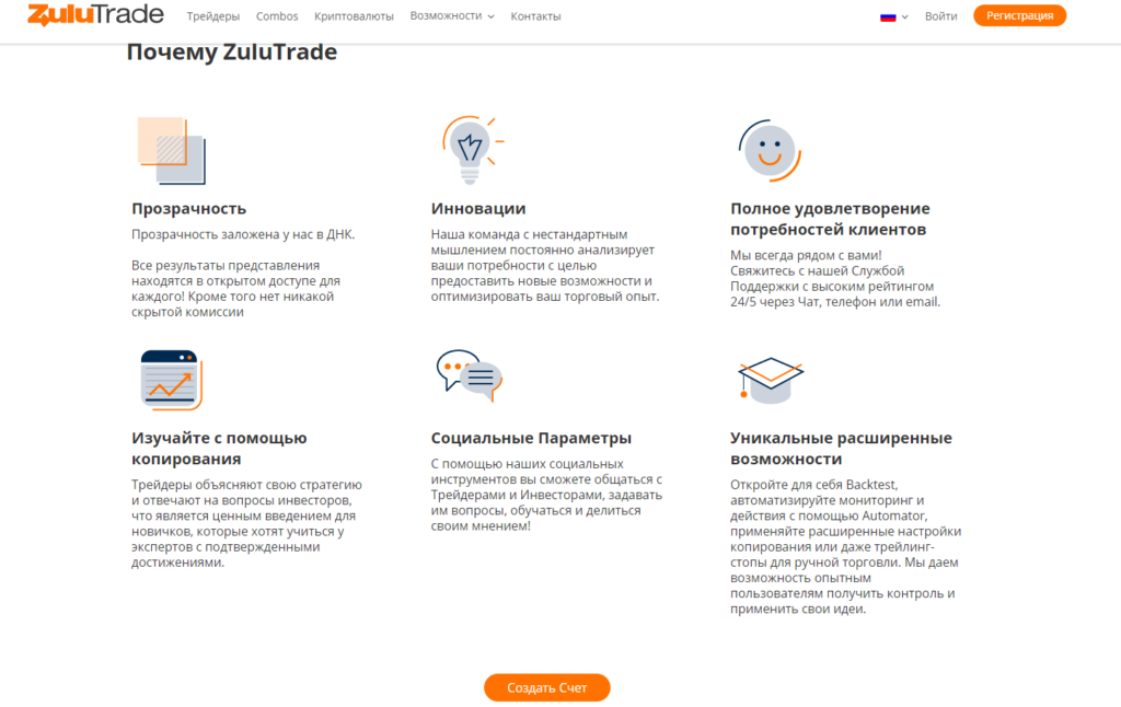 Почему ZuluTrade