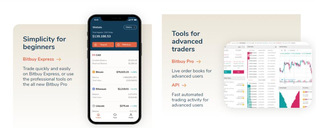 Мобильное приложение Bitbuy
