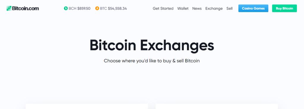 Что представляет платформа Bitcoin.com Exchange