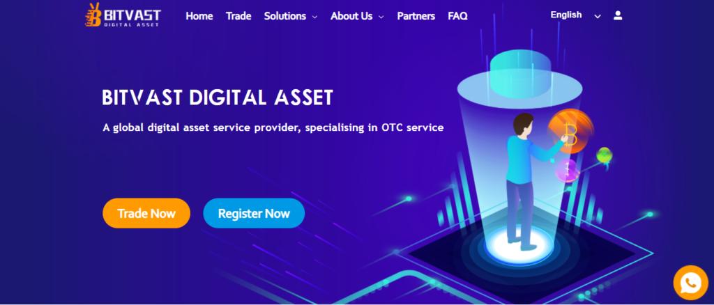 Сайт компании Bitvast создан на быструю руку, просто для отмывания денег пользователя