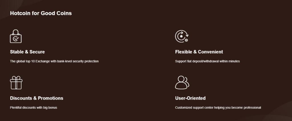 Компания Hotcoin Global достаточно много предлагает возможностей своим клиента, но выполняет ли?
