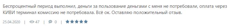 Отзыв абонента организации еКапуста оставленный после сотрудничества с ними